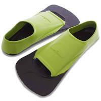 Ласты тренировочные с закрытой пяткой MadWave M074903 (резина, размер 32-44, зеленый) Код M074903
