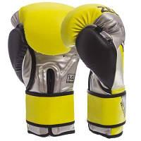 Перчатки боксерские PU на липучке ZELART BO-1335 (р-р 10-14oz, цвета в ассортименте) Код BO-1335