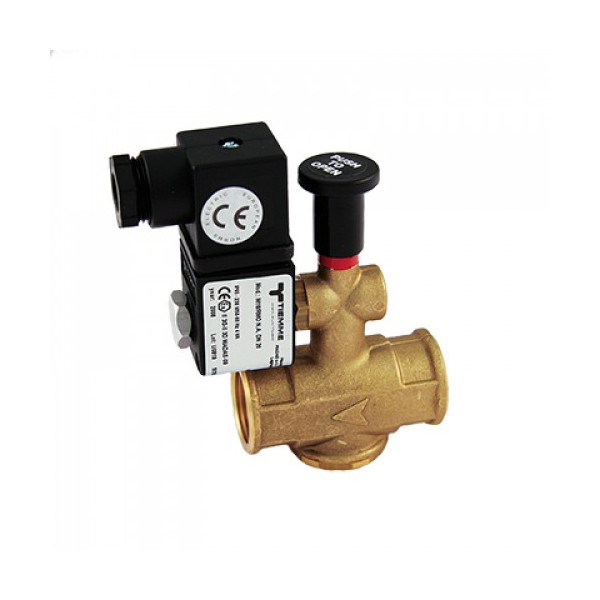Электромагнитный газовый клапан TIEMME 3/4' 230 VAC
