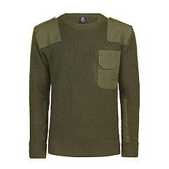 Пуловер Бундесвер Brandit BW Pullover M Оливковый 5018.1, КОД: 1381899