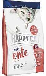 Корм Happy Cat Sensitive Ente 4 кг для кошек и котов с чувствительным пищеварением натуральный, КОД: 2399959