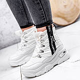 Ботинки женские Barta белые ЗИМА 2763, фото 2