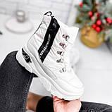 Ботинки женские Barta белые ЗИМА 2763, фото 3