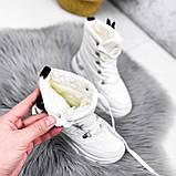 Ботинки женские Barta белые ЗИМА 2763, фото 6