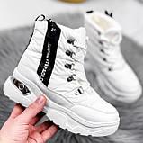 Ботинки женские Barta белые ЗИМА 2763, фото 7