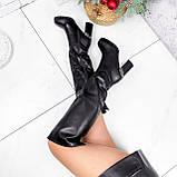 Ботфорты Silis черные ЗИМА 2754, фото 5
