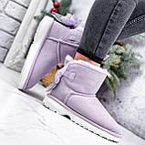 Угги женские Mimi лиловые Зима 2751, фото 3