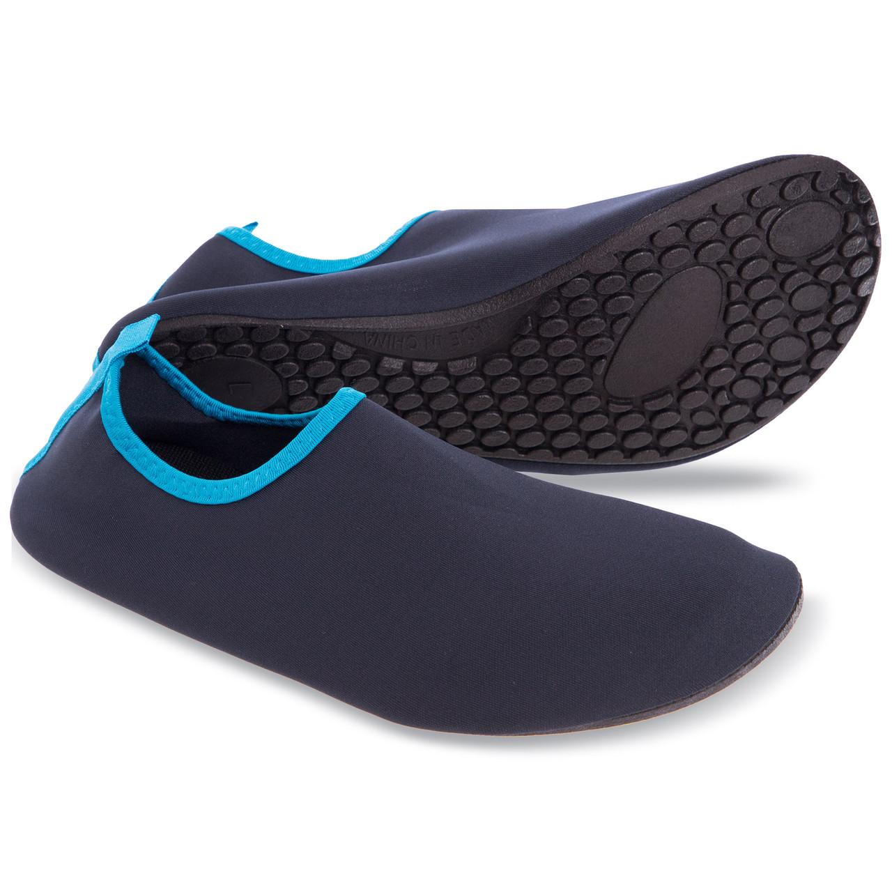 Обувь Skin Shoes для спорта и йоги темно-синяя PL-6962-B