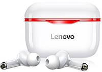 Беспроводные Bluetooth наушники Lenovo LivePods LP1 | IPX4 | Красный, фото 1