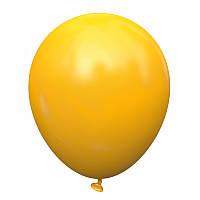 """Латексные воздушные шарики 5"""" Желтый теплый (ocher) 100шт/уп KL5-03 Kalisan"""