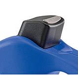 Поводок-рулетка Ferplast Amigo Mini Cord Blue-White Lead для собак,, М (5 м, до 25 кг), фото 3