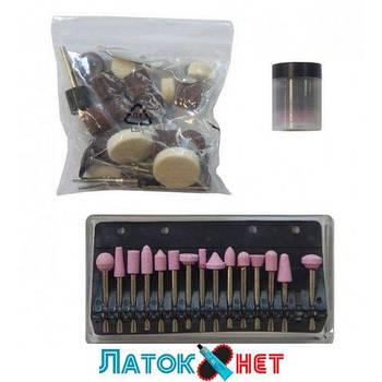 Набор аксессуаров для мини-дрелей 80 предметов в пластиковом кейсе F-GSK080 Forsage