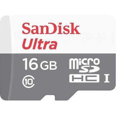 Карта памяти SanDisk 16Gb, class 10,  microSDHC, фото 2