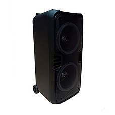 Акустическая портативная колонка комбик Battery Speaker 8800A | Два микрофона, Bluetooth, USB, фото 3