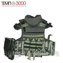 """Общевойсковой модульний бронежилет """"Корсар М3с""""  с системой быстрого сброса (ТЕМП-3000)"""