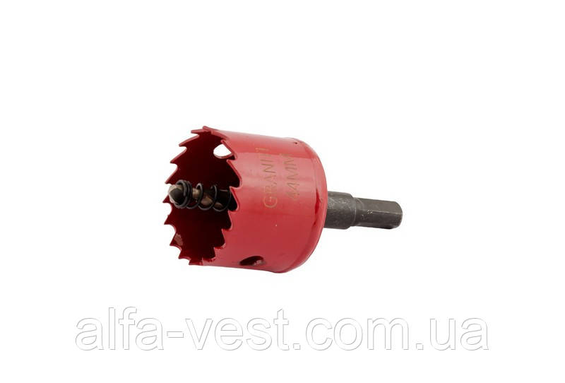 Сверло корончатое биметаллическое HSS M42  44 мм GRANITE 6-09-044