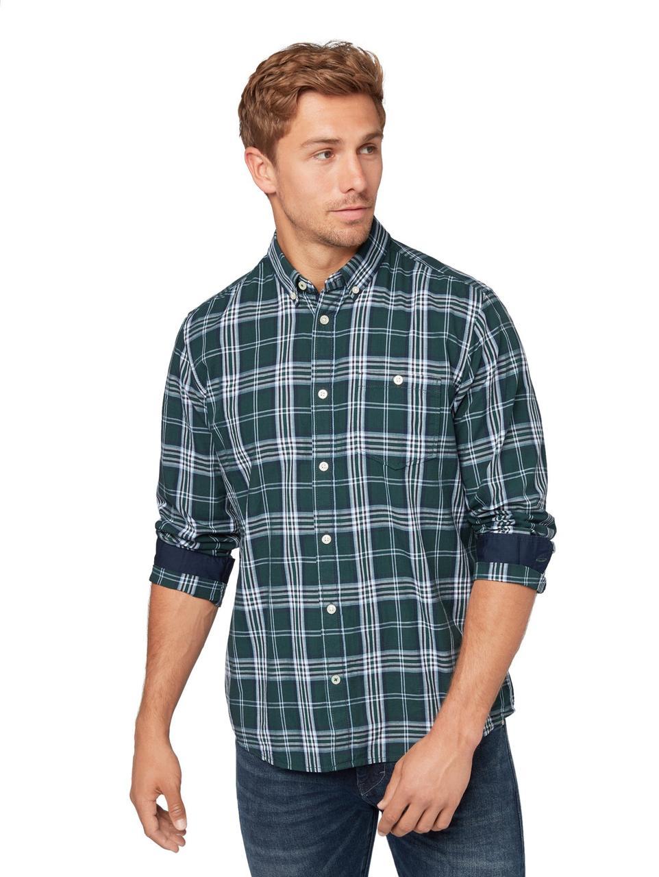 Рубашка Tom Tailor 1012823 S Зелёный