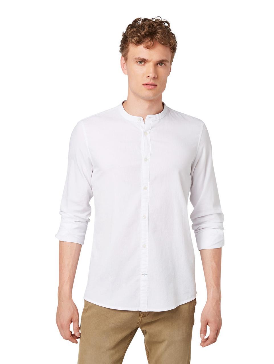 Рубашка Tom Tailor 1014010 XXL Белый