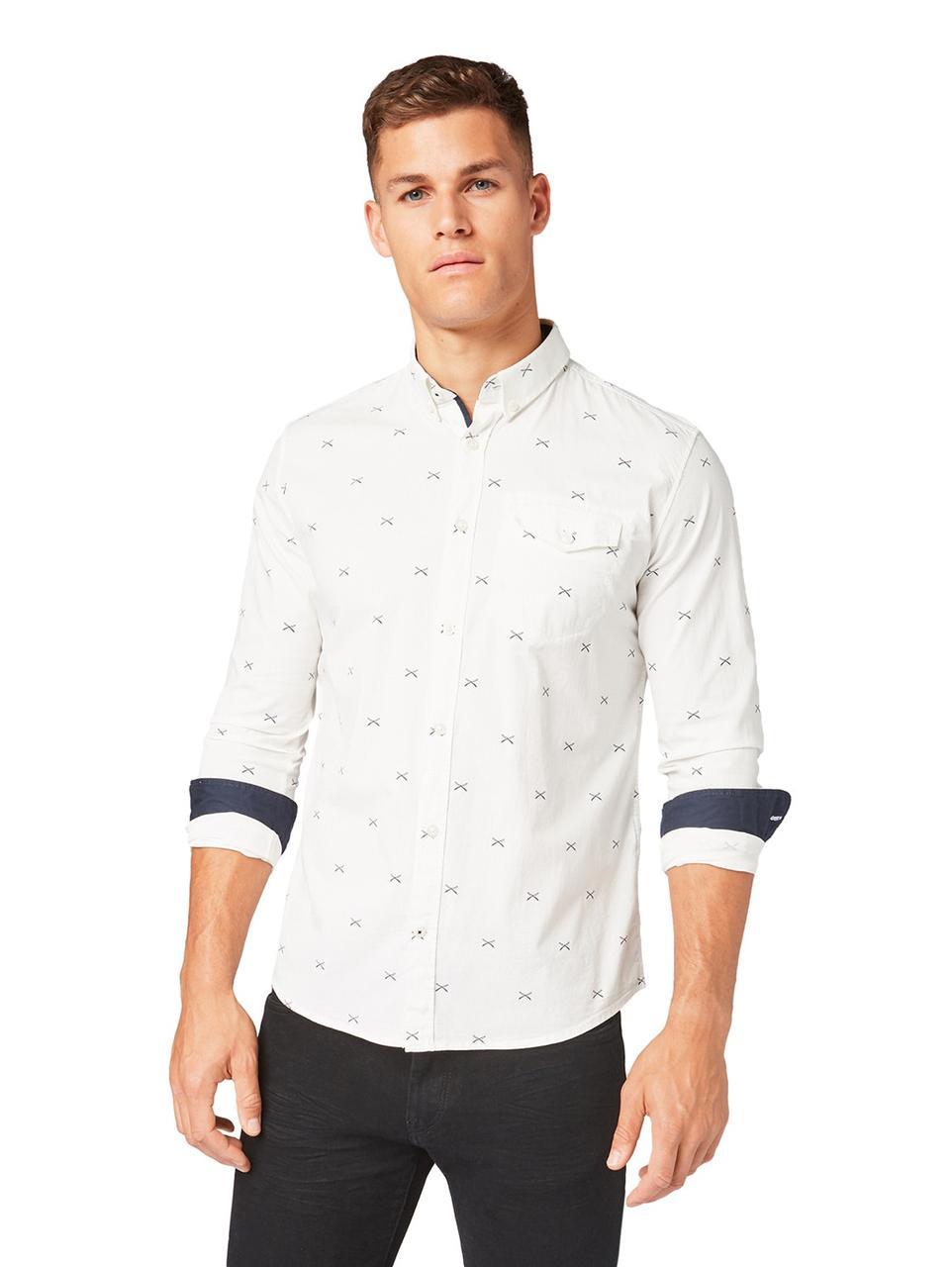 Рубашка Tom Tailor 1013518 L Белый