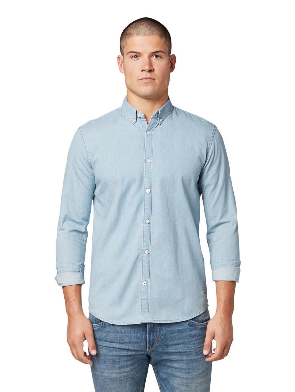 Рубашка Tom Tailor 1013684 XL Голубой
