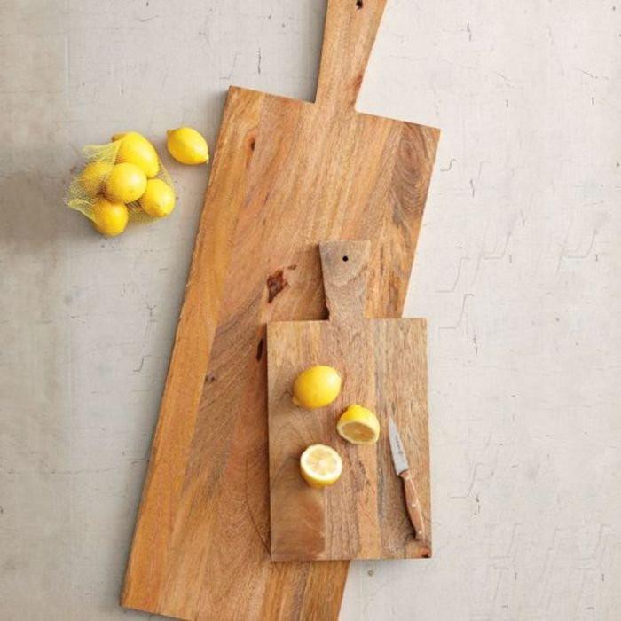 Кухонная деревянная доска ручной работы