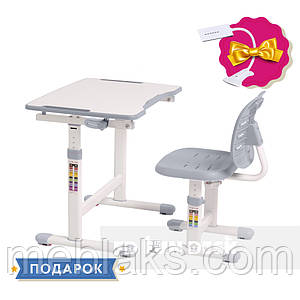 Комплект парта + стул трансформеры Omino Grey FunDesk