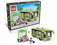 Конструктор Brick Enlighten серия Город 1121 (Автобус и автобусная остановка)