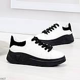 Ультра модные молодежные черно - белые женские кроссовки в ассортименте, фото 2