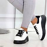 Ультра модные молодежные черно - белые женские кроссовки в ассортименте, фото 4
