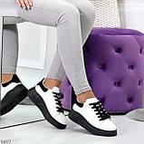Ультра модные молодежные черно - белые женские кроссовки в ассортименте, фото 8