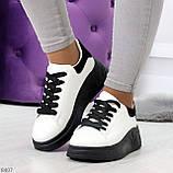 Ультра модные молодежные черно - белые женские кроссовки в ассортименте, фото 10