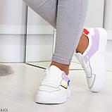 Яркие молодежные дышащие женские кроссовки кеды мультиколор, фото 3