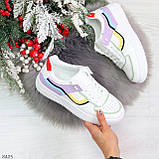 Яркие молодежные дышащие женские кроссовки кеды мультиколор, фото 10