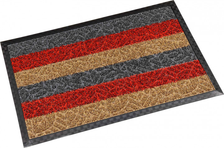 Коврик  резиноый Dariana Multicolor 60*90см с ворсом
