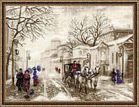 Набор для вышивки крестом Риолис 1400 Старая улочка