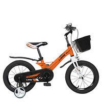 Велосипед дитячий WLN1450D-4 Hunter, помаранчевий, фото 1
