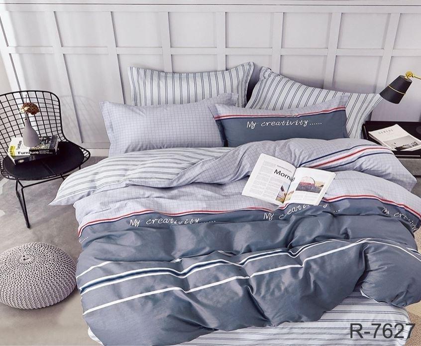"""Супер качественное постельное белье из бязи Ранфорс """"My creativity"""" полуторка 150х220+2 наволочки"""