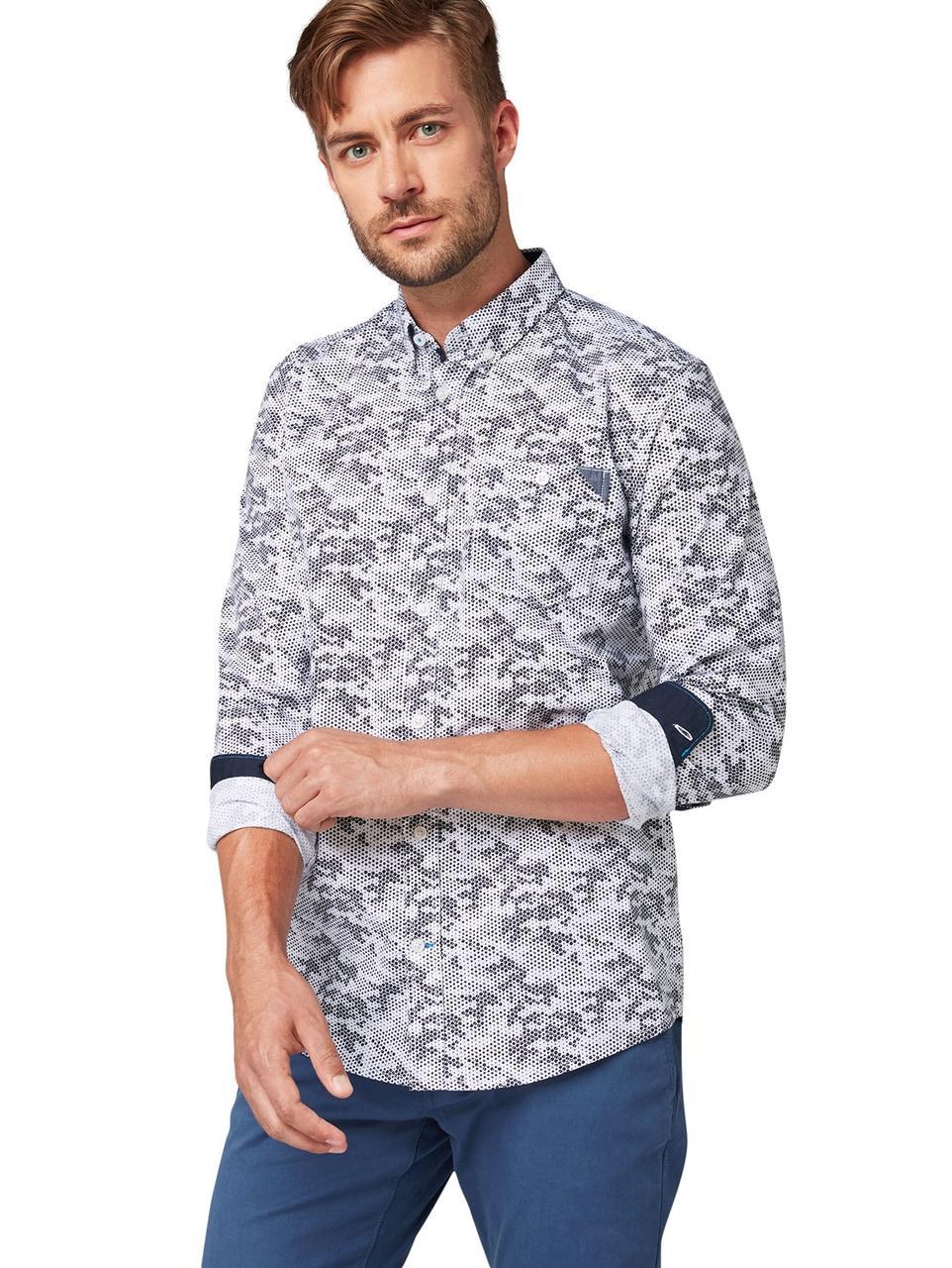Рубашка Tom Tailor 1013901 L Серый