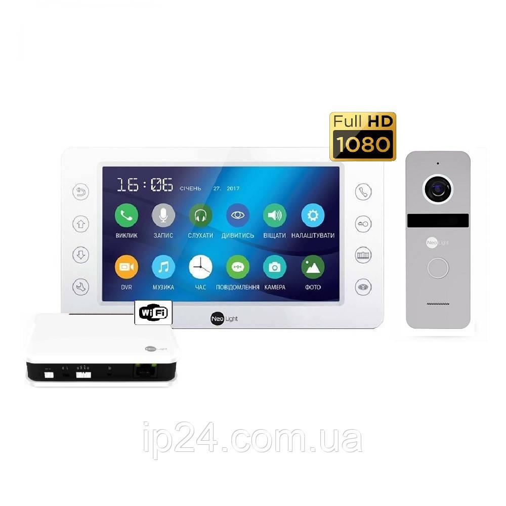 NeoLight KAPPA HD WiFi Box Silver комплект видеодомофона
