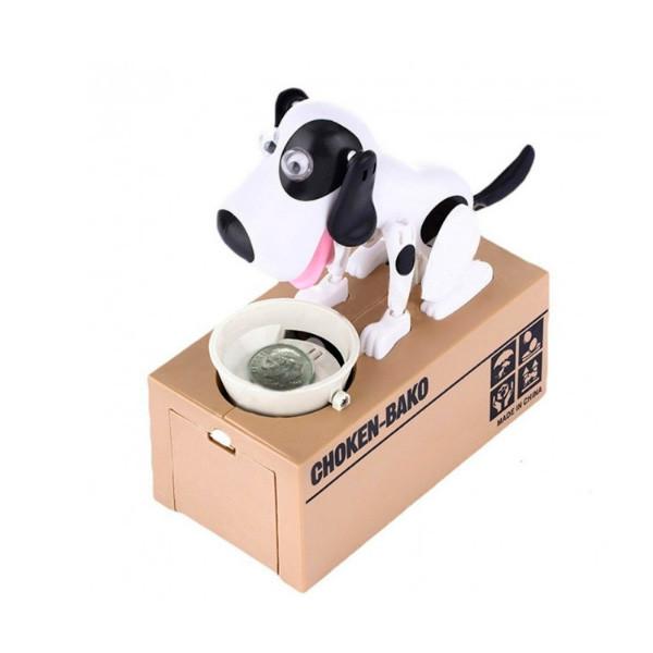 Интерактивная Собака-копилка My Dog Piggy Bank - Белая