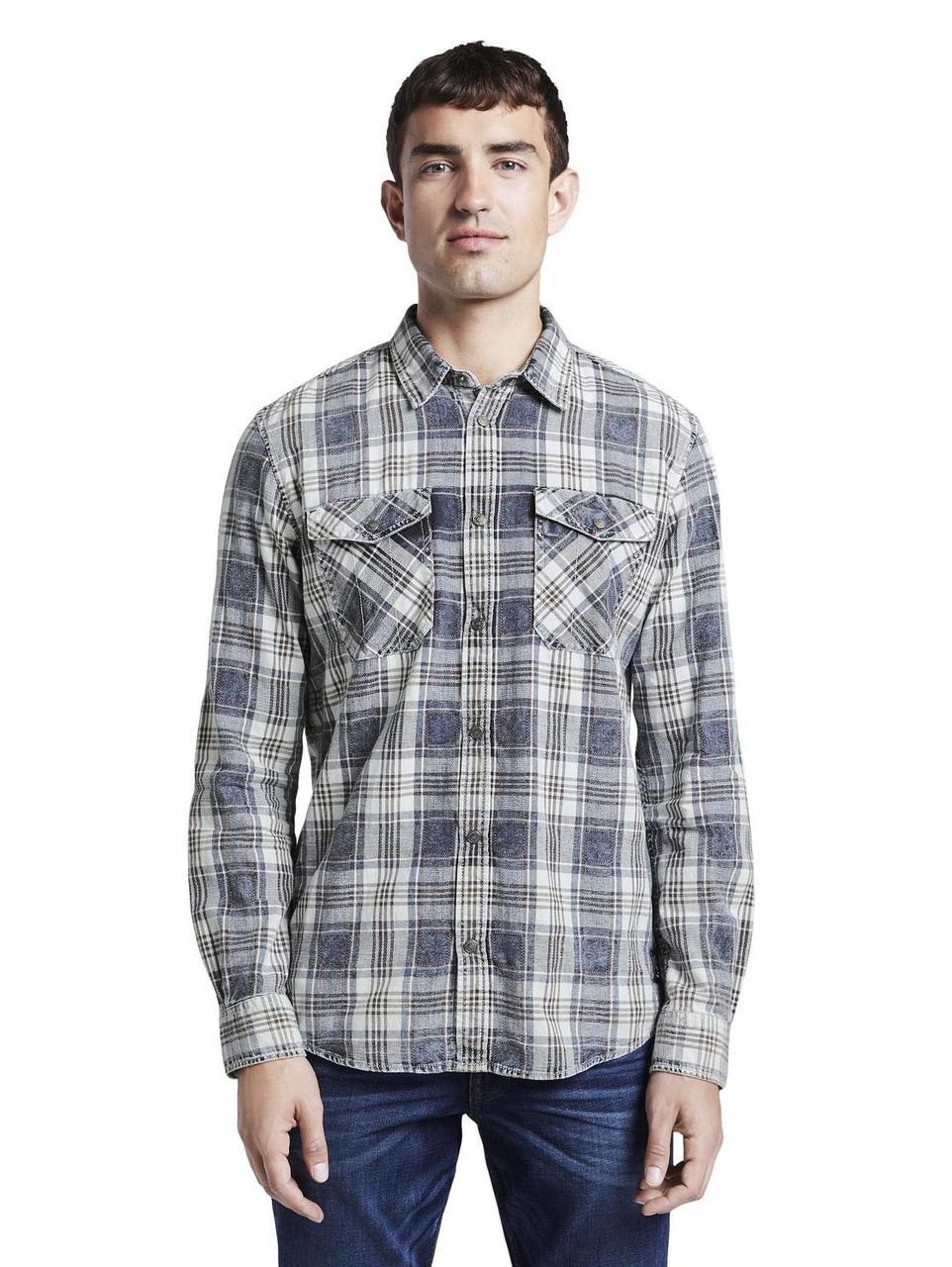 Рубашка Tom Tailor 1014480 L Серый