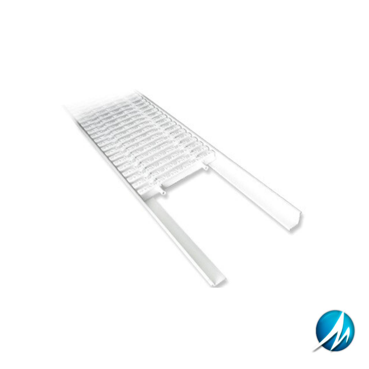 L-образный профиль для переливной решетки AquaViva Classik и Grift 2м х 25 мм