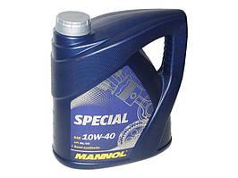 Масло моторное п/синтетика MANNOL Special 10W-40 4L SG/CD