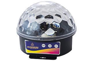 Диско куля музичний Crownberg - CB-0304 (CB-0304), (Оригінал)
