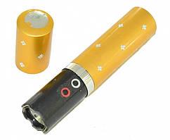 Фонарик электрошокер помада Police BL-1202 gold