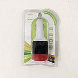 Фм-модулятор, трансмиттер FM MOD CM 7010 c зарядкой для телефона, фото 5