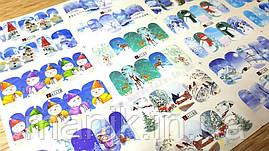 Слайдер-дизайн для ногтей (Набор) №A1179-1186