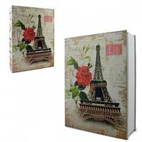 Книга-сейф с ключиком Париж 18см