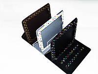 Чехол-подставка Louis Vuitton для iPad, дизайн цветные буквы.Стильный аксессуар. Сделан из PU кожи. Код: КЕ261