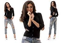 """Женская стильная модная рубашка 1065 """"Барберри Латки"""", фото 1"""
